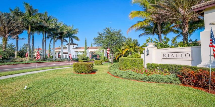 Photo Gallery: The Rialto Gated Community in Jupiter, FL