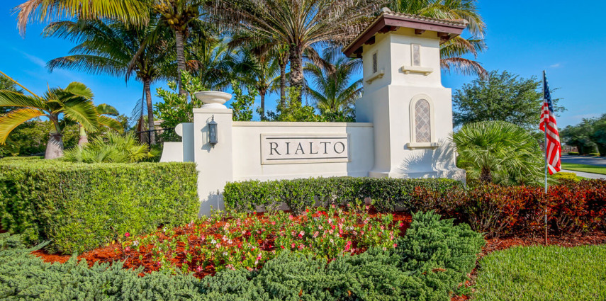 photo gallery the rialto gated community in jupiter fl